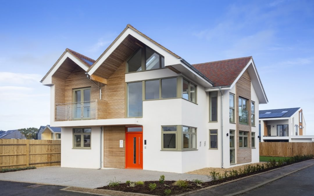 lapd Architect's Self Build Design Shortlisted for RICS Awards: Social Impact 2020